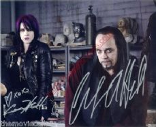 Cleve and Constance Hall. signed  Monster Man  (TV Series 2011) 8x10  AUTHENTIC